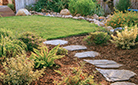 Dry-Set Natural Garden Path