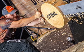 Tune in to STIHL TIMBERSPORTS®