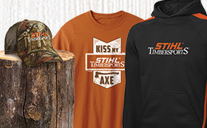 The STIHL TIMBERSPORTS® Collection