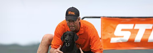 Tom Dropik and STIHL