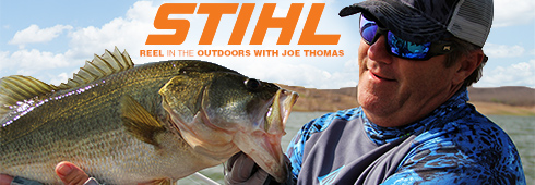 Joe Thomas and STIHL