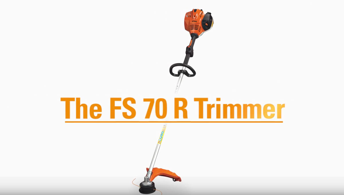 FS 70 R Product Features Video | STIHL USA