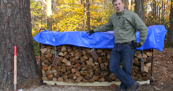 sc 1 st  Stihl & How to Store Firewood Video | Firewood Storage | STIHL USA