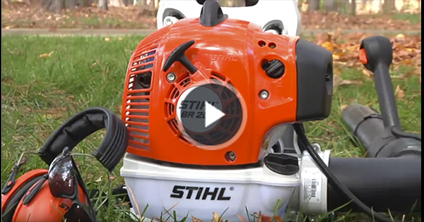 Up Close Look At The Br 200 Blower Video Stihl Usa