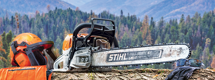 The lightest STIHL professional gasoline-powered chainsaw in its class.