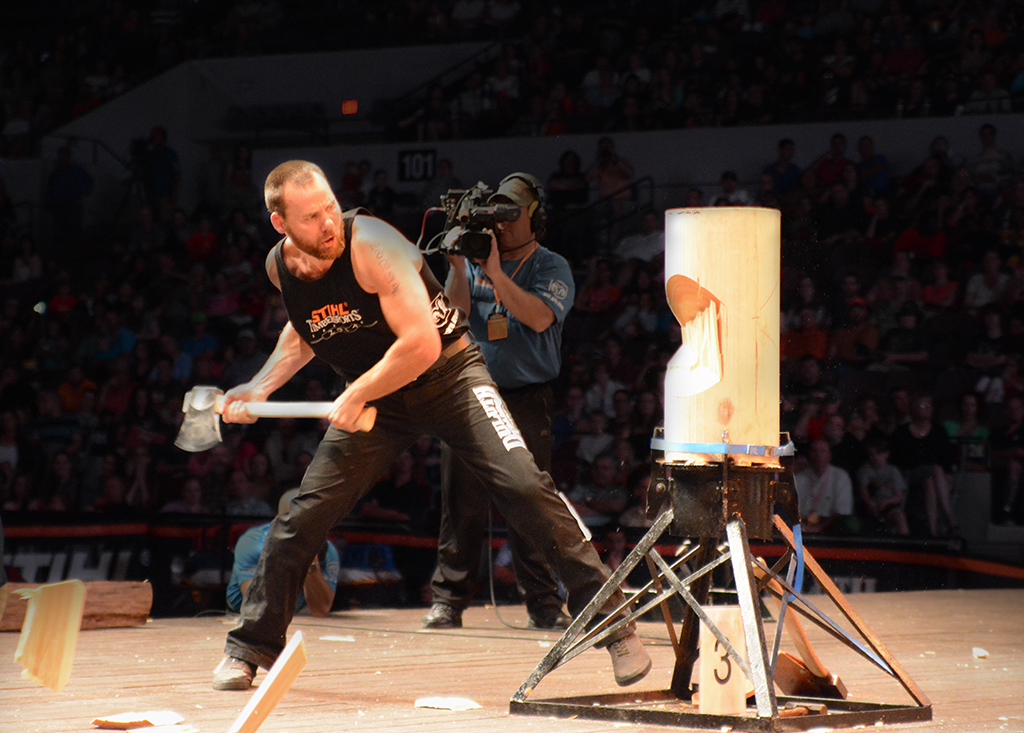 STIHL TIMBERSPORTS Newcomers Poised for US Championships