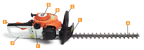 Stihl Hedge Trimmer Features Stihl Usa Stihl Usa