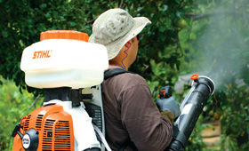 Backpack Blower & Sprayer