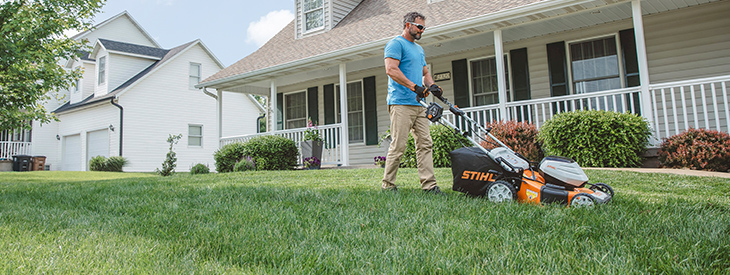 Lawn Mower With Battery Powered Innovation Learn More