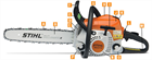 MS - Common Features for Chain Saws