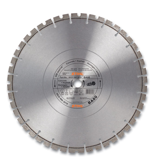 BA80 Diamond Wheel - Premium Grade