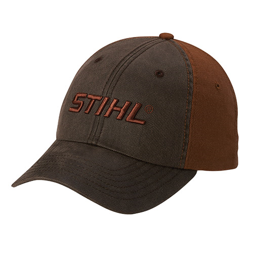Brown and Charcoal Cap