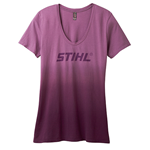 Womens Dip-Dyed T-Shirt