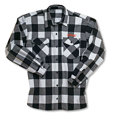 Brawny flannel heavy weight work shirt
