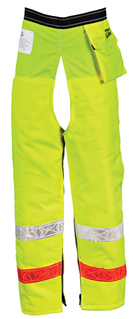 Pro Mark™ Hi-Vis Zip Chaps - 9 Layer