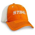 Orange and Stone Two-Tone Cap