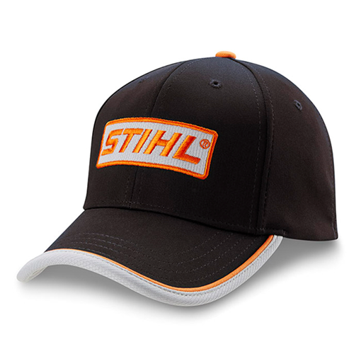 Black Stretch Fitted Performance Cap