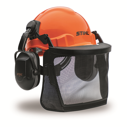 Chainsaw Safety Helmet Hard Hat c//w Ear Muffs /& Visors Ideal For Stihl Users