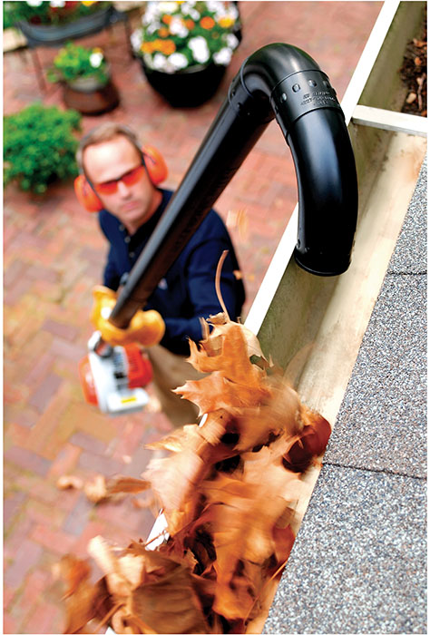 Leaf Blower Gutter Kit Cleaning Attachment Stihl Usa