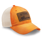 Washed Orange Trucker Cap
