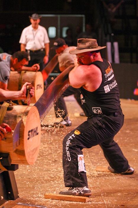 Arden Cogar Jr., 2012 STIHL TIMBERSPORTS US Champion
