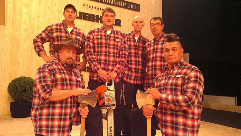 STIHL TIMBERSPORTS 2013 Team USA
