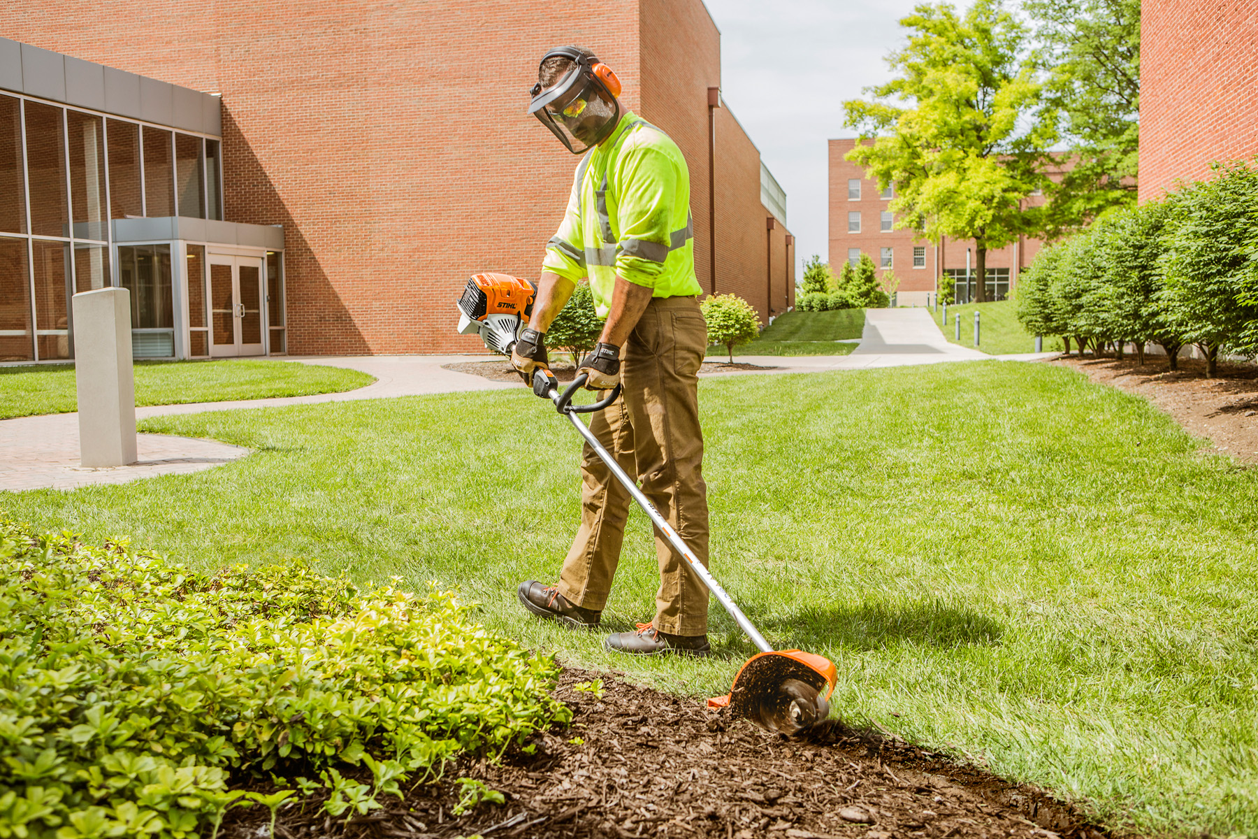dedicated bed redefiner is a stihl first for professional