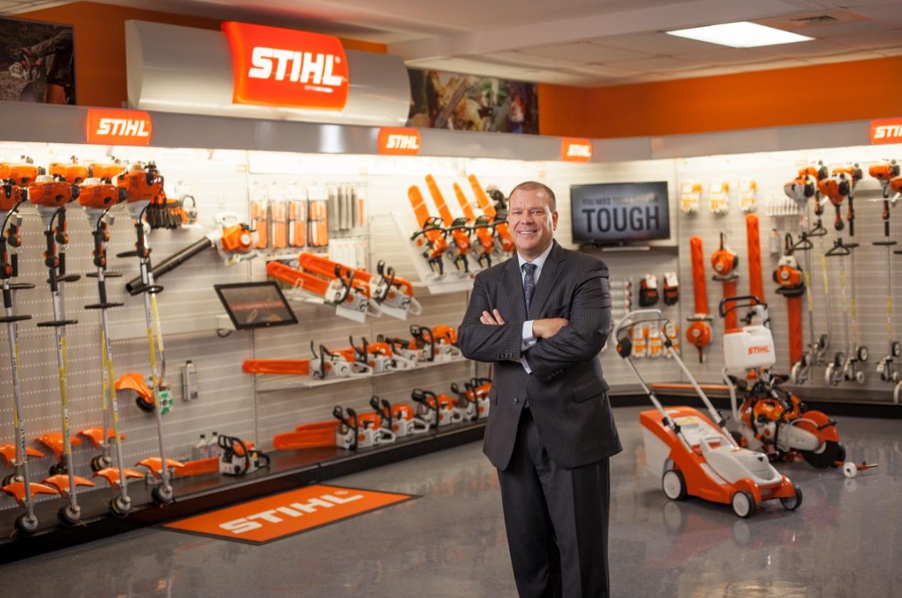President of STIHL Incorporated, Bjoern Fischer
