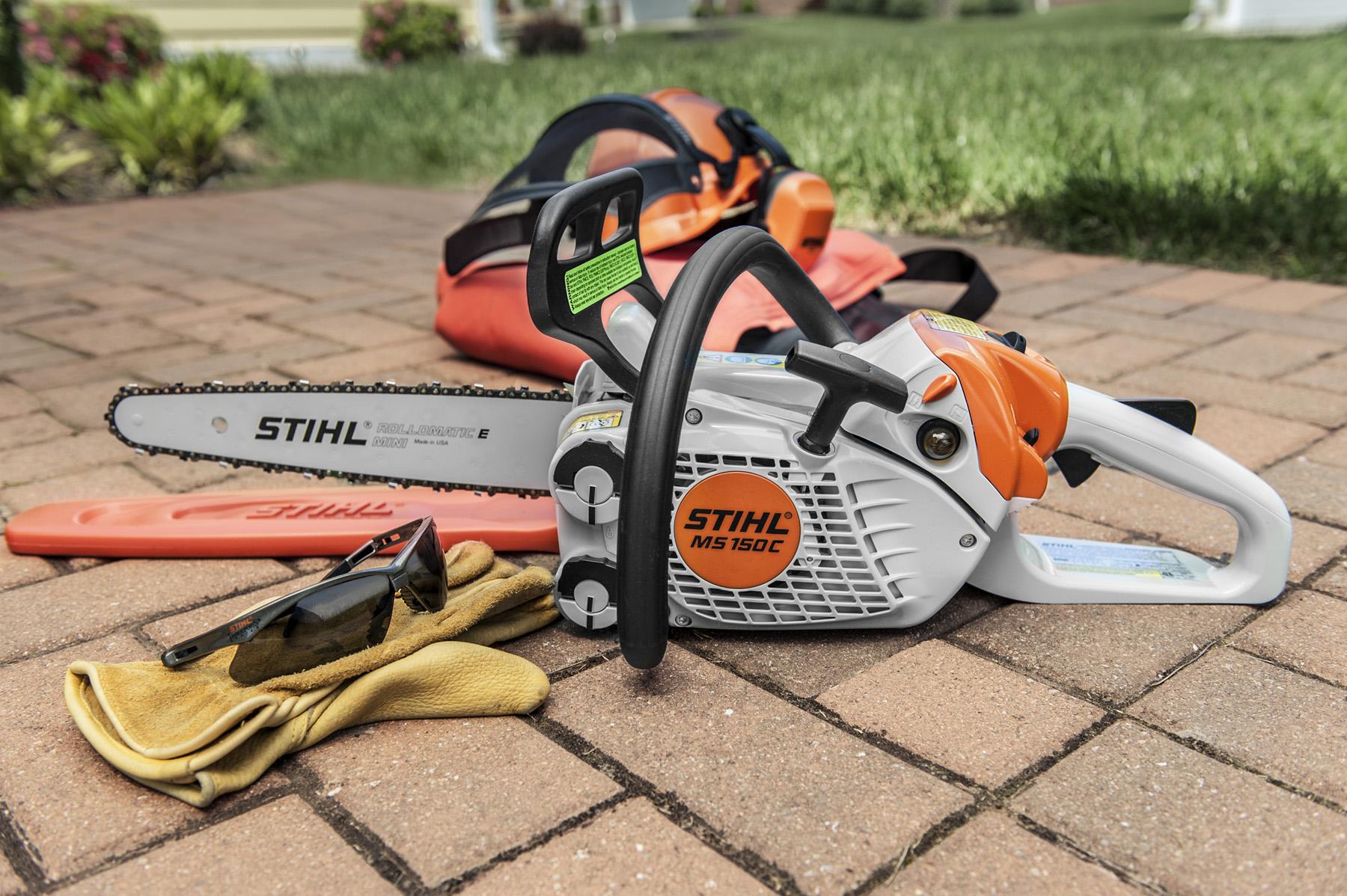 Stihl enters ultra lightweight chainsaw market usa