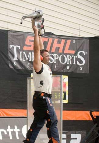 Jason Wynyard, 2010 STIHL TIMBERSPORTS Series champion