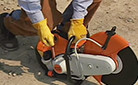How to Start a STIHL Cut-Off Machine