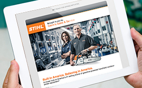Sign up for STIHL Emails!