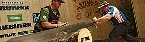 Follow STIHL® TIMBERSPORTS®