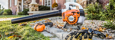 Leaf Blowers: A Guide to Safer & More Courteous Use