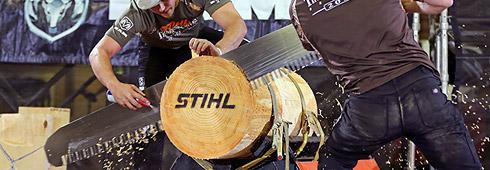 Log Cutting Competition | Single Buck Competition | STIHL USA