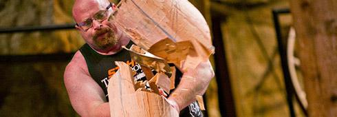 Springboard Chop Competition Stihl Usa