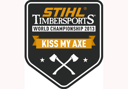 Go to Germany to host 2013 STIHL® TIMBERSPORTS® World Championship