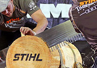 Go to STIHL TIMBERSPORTS® Facebook