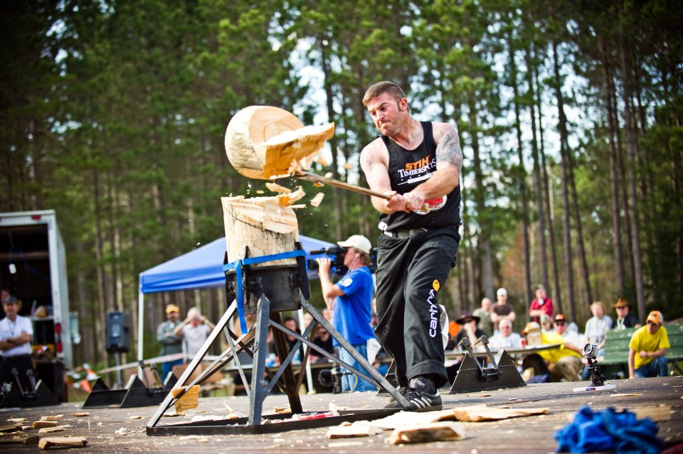 Go to Michigan State Hosts the STIHL TIMBERSPORTS Series