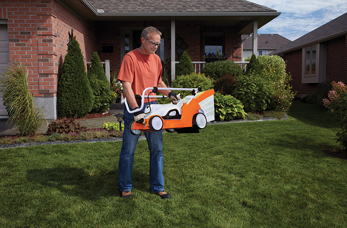 RMA 370 Battery Powered Cordless Electric Lawn Mower STIHL USA