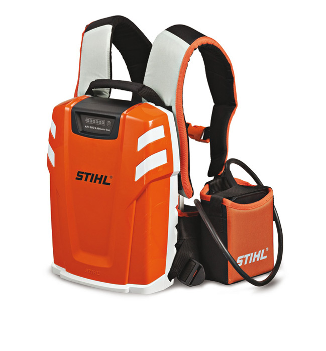 stihl launches game changing lithium ion backpack battery. Black Bedroom Furniture Sets. Home Design Ideas