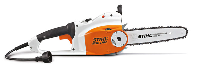 Stihl delivers more power with new electric chainsaw stihl usa mse 170 c bq greentooth Gallery