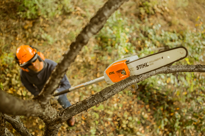Hta 65 Pole Pruner Fixed Length And Battery Operated Pruner