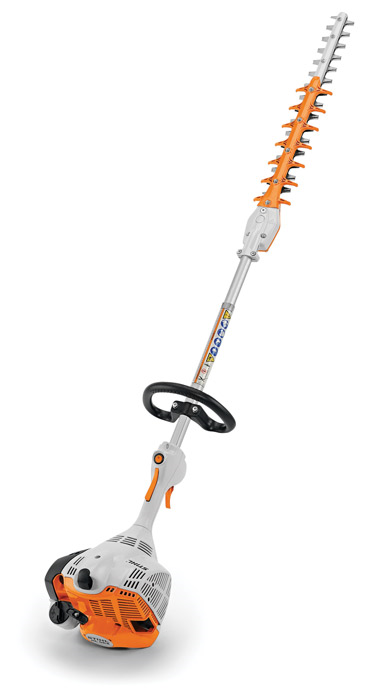 New STIHL Extended-Reach Hedge Trimmers Better Balanced for