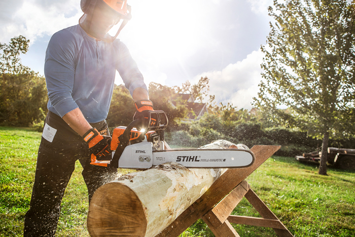 ms 250 high performance compact chainsaw stihl usa