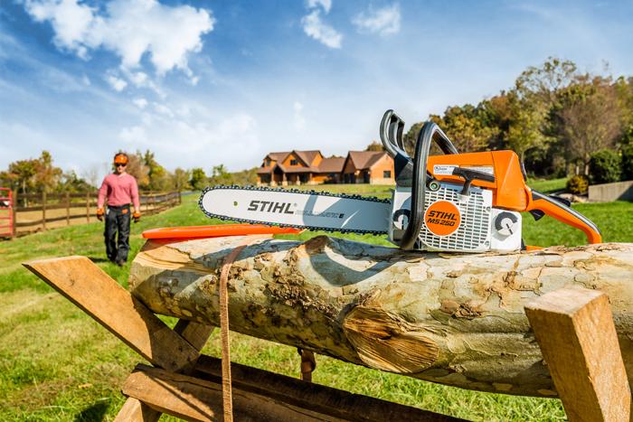 ms 250 high performance compact chainsaw stihl usa