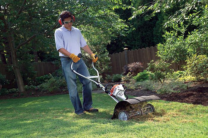 Mf Mm Lawn Grass Dethatcher Yard Boss 174 Attachments