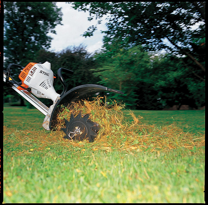 Yard Machine Parts >> STIHL RL-MM Lawn Aerator - YARD BOSS® Attachments | STIHL USA
