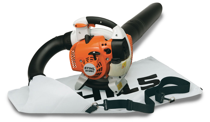 On Off Switch Stihl Blower : Sh c e leaf shredder vacuum professional vac