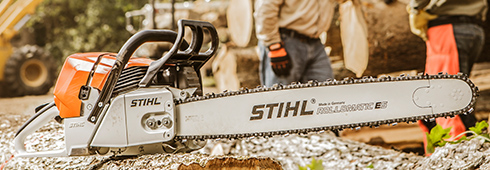 Learn Why STIHL Produces Its Own Saw Chain